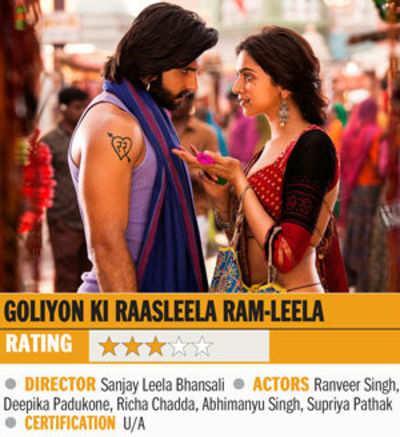 Film review: Goliyon Ki Raasleela Ram-Leela