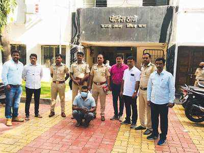 Man duped of Rs 51L by fake police officer