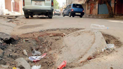 All manholes on major city roads levelled, claims BWSSB