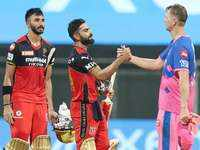 IPL 2021: Bangalore crush Rajasthan to stay undefeated