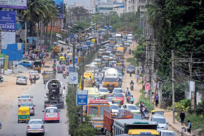 Sarjapura widening work hits a roadblock