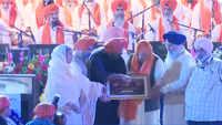 Amit Shah attends 'Shabad Anahad Kirtan' in Delhi