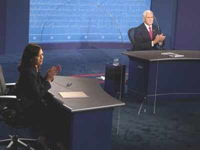 Kamala Harris assails Donald Trump virus 'failure' in newly civil election debate