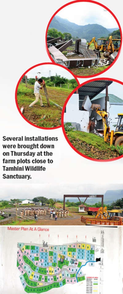 Demolition comes knocking as pvt players usurp forest dept land