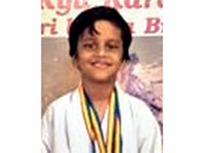 Aarush kicks up two golds