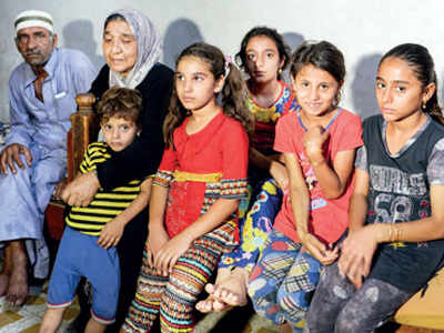 Iraqi grandmother faces daily battle caring for 22 kids
