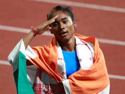 Asian Games: Hima Das, Muhammed Anas win 400m silver medals