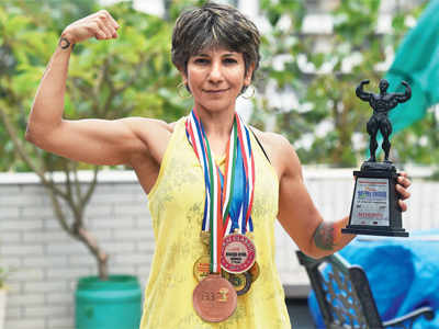 Mumbai: 51-year-old Nishrin Parekh to set record for being oldest female contestant at Asian Bodybuilding Championships