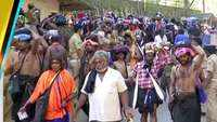 Devotees trek Sabarimala to offer prayers to Lord Ayyappa