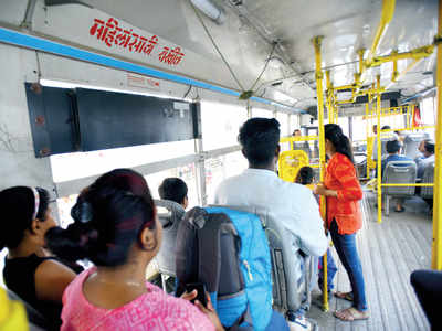 Women can 'take the chair' in PMPML buses