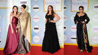 Rekha, Aditi Rao Hydari, Raveena Tandon and other celebrities dazzle at red carpet of an award show