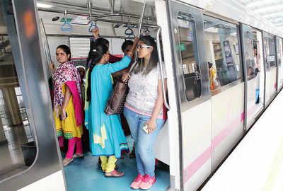 Next stop: A separate coach for women in Namma Metro