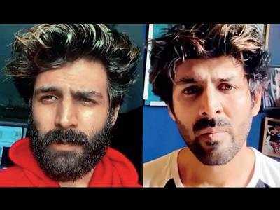 It's a close shave for 'jungli' Kartik Aaryan