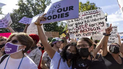 Thousands march for abortion rights in US amid increased restrictions