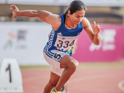 Country's fastest woman Dutee Chand clinches 100m gold at Khelo India University Games