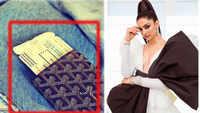 Cost of Deepika Padukone's stylish passport cover will leave you stunned!
