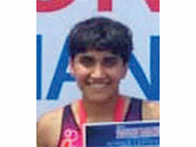 Gujarat girls shine in Triathlon