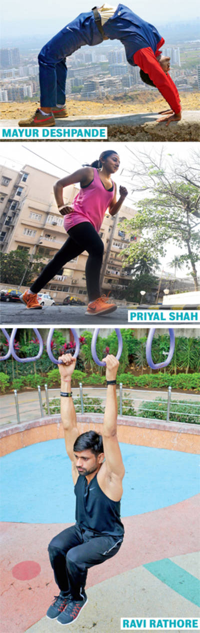 Move your workout outdoors