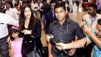Aishwarya Rai Bachchan avoids media at airport, returns to Mumbai with daughter Aaradhya