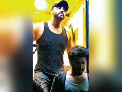 Arjun Kapoor shoots for a special song cousin Harshvardhan's Bhavesh Joshi Superhero