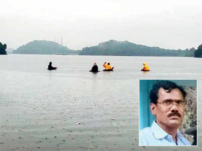 Man celebrating b'day at lake may have drowned