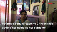 Satarupa Sanyal reacts to daughter, Chitrangada, taking her name