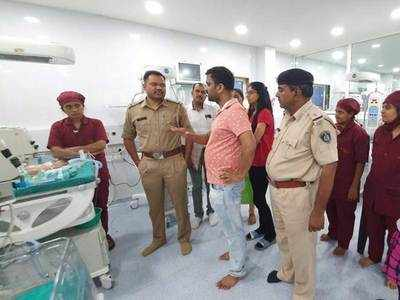 Sabarkantha  cops turn guardians of abandoned baby boy