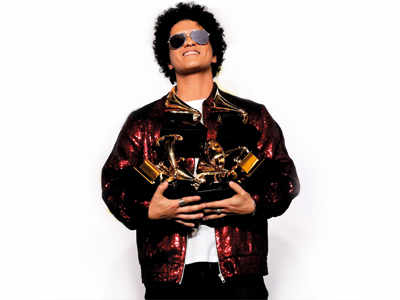 Bruno, politics sweep Grammy