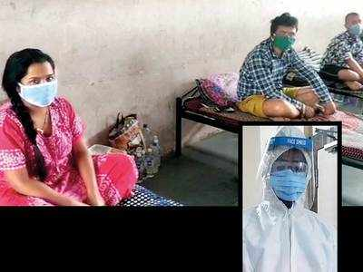 In DCB quarantine ward, male and female patients made to share room