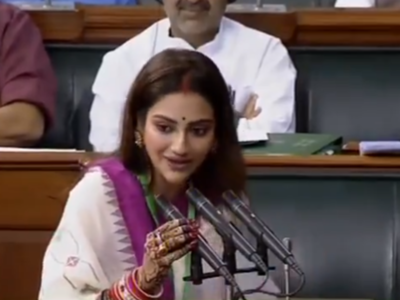 TMC MP Nusrat Jahan admitted to hospital after complaining of respiratory problems