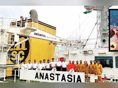 16 Indian sailors stuck in China return today