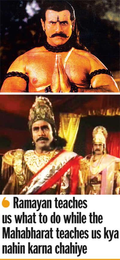 Duryodhan returns as Raavan on stage