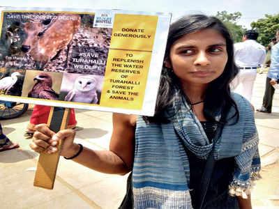 Students bat for Turahalli's animals