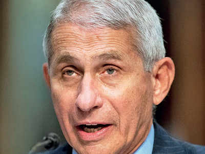Wear goggles for corona protection, says Dr Fauci