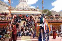 Leh: Devotees celebrate annual festival of Tseskarmo Monastery