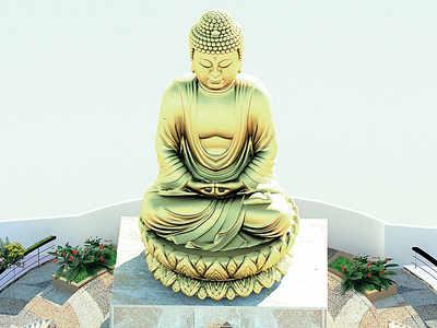 55-ft Buddha to sit astride twin Chembur Freeway tunnels