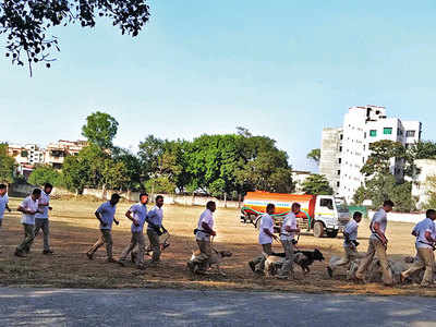 Centre in city to train RPF sniffer dogs has zero infrastructure