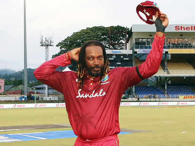 I didn't announce anything, says Chris Gayle on retirement rumors