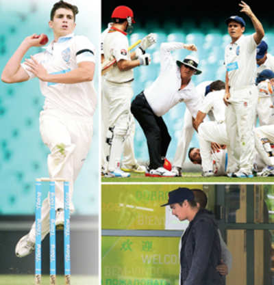 Sean Abbott, whose bouncer felled Phillip Hughes, is in IPL auction