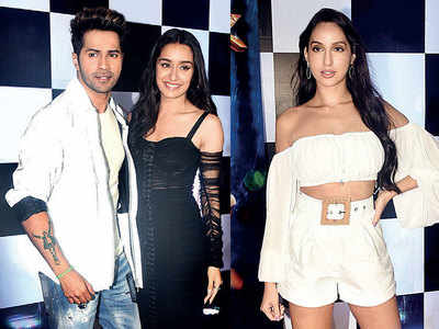 Varun Dhawan, Shraddha Kapoor, Nora Fatehi, Remo D'souza burn the dance floor at the wrap-up party of Street Dancer 3D