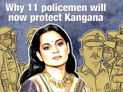 Why 11 policemen will now protect Kangana Ranaut; Here's all you need to know