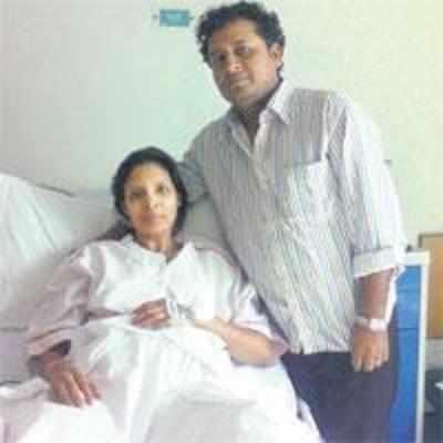 Rare surgery lets woman see son's sixth birthday