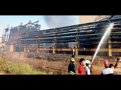 Eight injured in fire at Hyd chemical factory