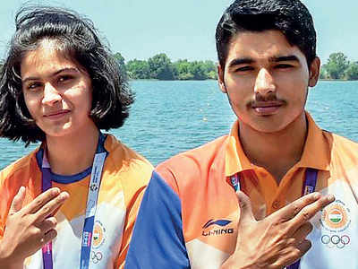 ISSF World Cup: Manu Bhaker and Saurabh Chaudhary win gold in 10m Air Pistol Mixed Team