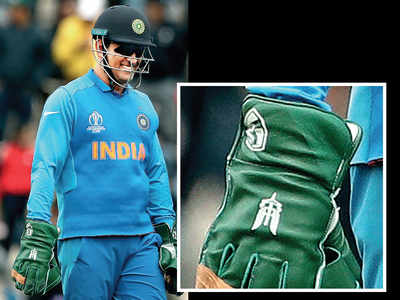 ICC doesn't budge, dhoni must remove insignia from glove