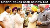 Congress MLA Charanjit Singh Channi takes oath as Punjab CM
