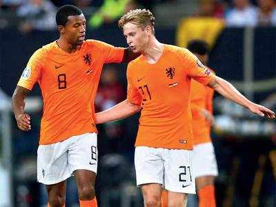 Dutch delight as they sink Germany