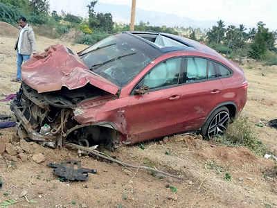 Revenue Minister R Ashok dodges queries about son's role in crash