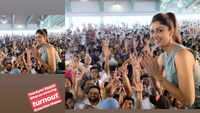 Shilpa Shetty teaches yoga in Surat ahead of World Yoga Day