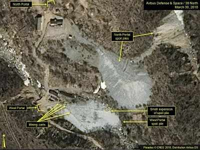 US monitor: Dismantling of N Korea nuclear site 'well under way'